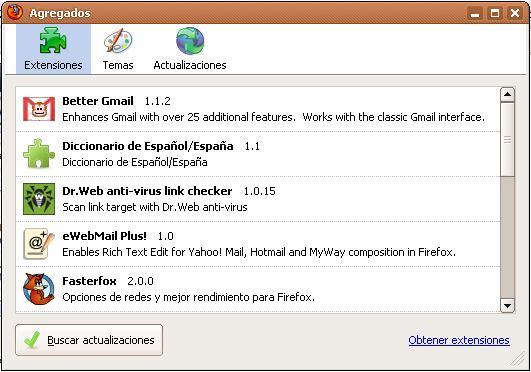 Plugins Mozilla FireFox