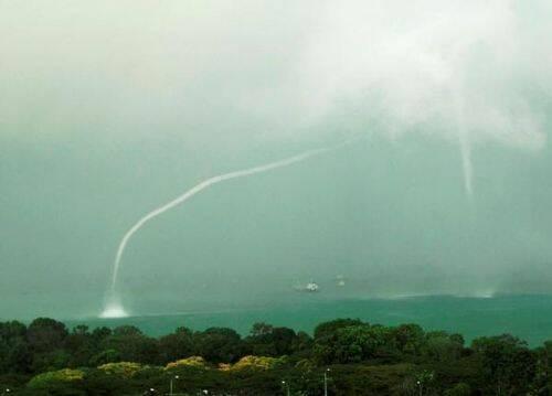 tornado agua